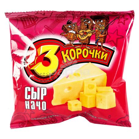 Չորահաց «3 Корочки» պանիր 40գ