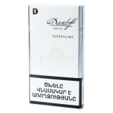 Ծխախոտ «Davidoff Super Slims White»