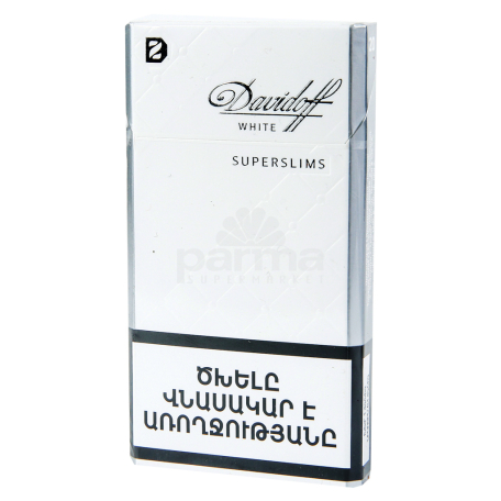 Ծխախոտ «Davidoff Super Slims White»
