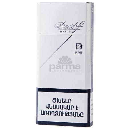 Ծխախոտ «Davidoff Slims White»