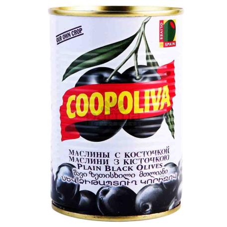 Ձիթապտուղ «Coopoliva» սև 425մլ