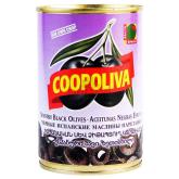 Ձիթապտուղ «Coopoliva» սև, կտրատված 385գ