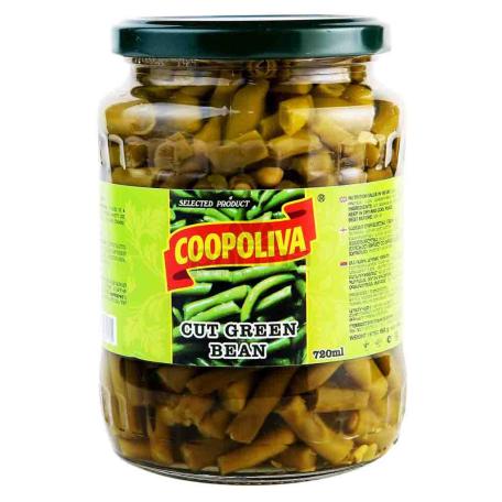 Կանաչ լոբի «Coopoliva» 720մլ