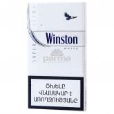 Ծխախոտ «Winston Super Slims White»