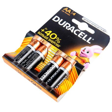 Մարտկոց «Duracell» 2A K+4