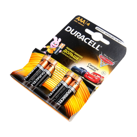 Մարտկոց «Duracell» 3A K+4