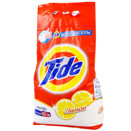 Փոշի լվացքի «Tide» ավտոմատ, կիտրոն 2.5կգ