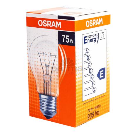 Լամպ «Osram Classic» A CL 75W/E27