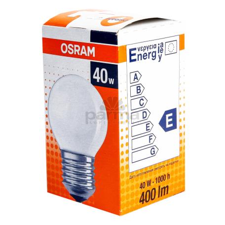 Լամպ «Osram Classic» P FR 40W/E27