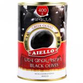 Ձիթապտուղ «Աիելո» սև, գիգանտ 400գ