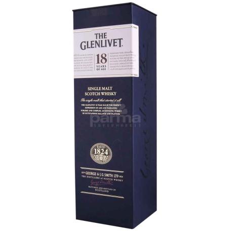 Վիսկի «The Glenlivet» 18տ 700մլ