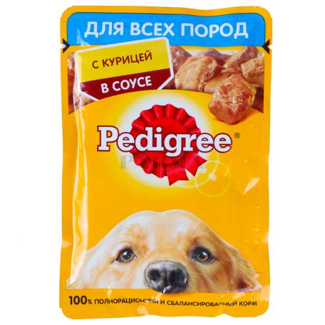 Շան խոնավ կեր «Pedigree» հավ 100գ