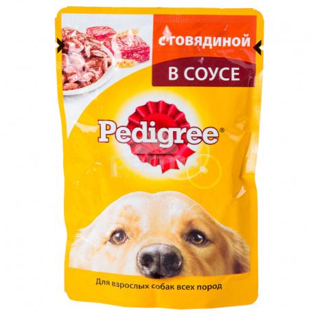 Շան խոնավ կեր «Pedigree» տավար 100գ
