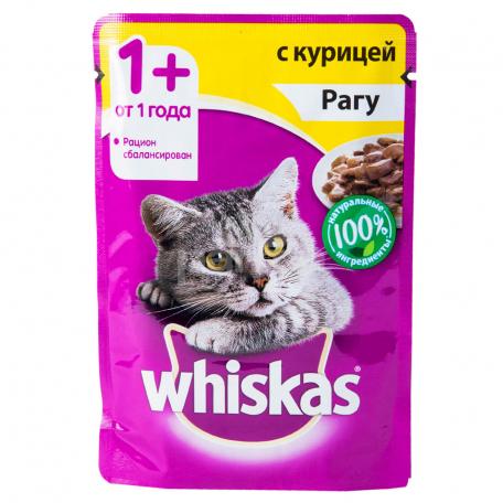 Կատվի խոնավ կեր «Whiskas» հավ 100գ