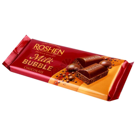 Շոկոլադե սալիկ «Roshen bubble» ծակոտկեն 85գ