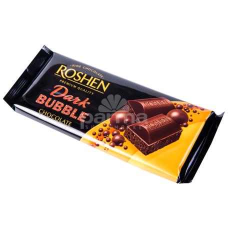 Շոկոլադե սալիկ «Roshen Bubble» մուգ շոկոլադ 85գ