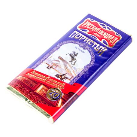 Շոկոլադե սալիկ «Русский шоколад» 100գ