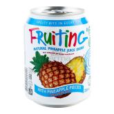 Հյութ բնական «Fruting» արքայախնձոր 238մլ