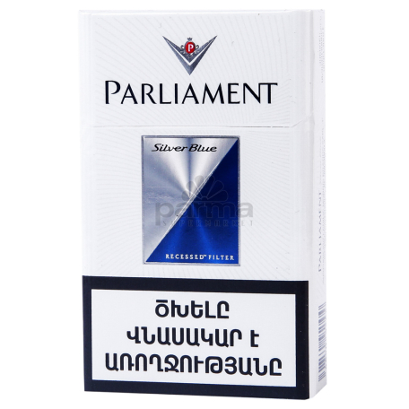 Ծխախոտ «Parliament Silver Blue»
