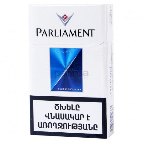 Ծխախոտ «Parliament Aqua Blue»