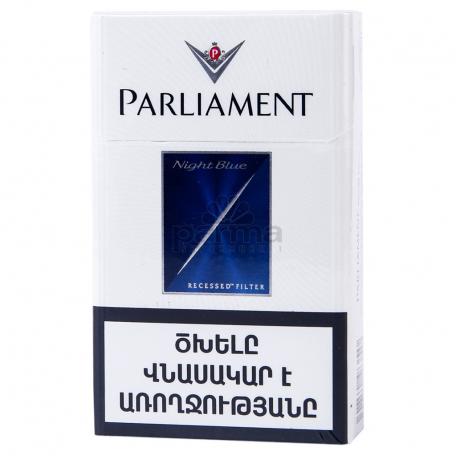 Ծխախոտ «Parliament Night Blue»