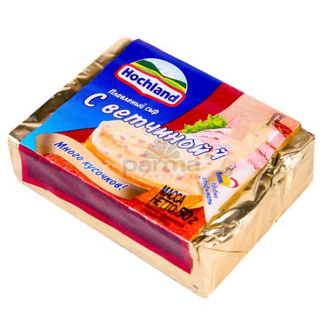 Հալած պանիր «Hochland» խոզապուխտ 50գ