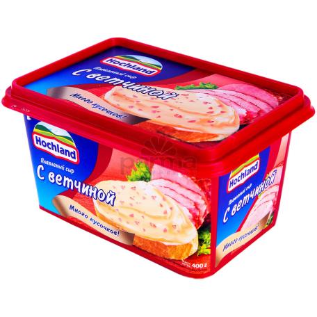 Հալած պանիր «Hochland» խոզապուխտ 400գ