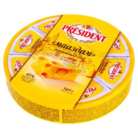 Հալած պանիր «President» 140գ