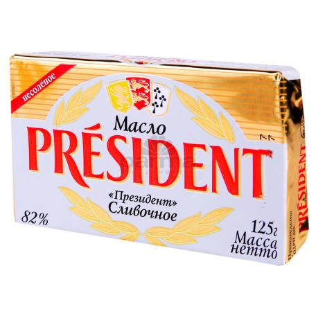 Կարագ «President» 82% 125գ