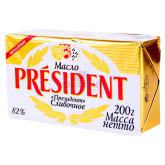Կարագ «President» 82% 200գ