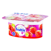 Յոգուրտային արտադրանք «Campina Fruttis» դեղձ, ելակ, տանձ 8% 115գ