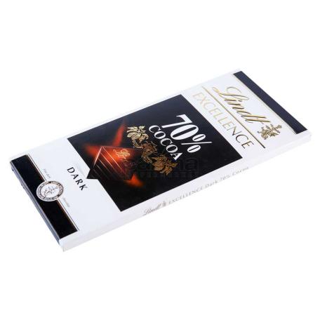 Շոկոլադե սալիկ «Lindt Excellence Cocoa» 70% 100գ