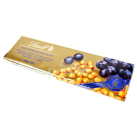 Շոկոլադե սալիկ «Lindt Gold» 300գ