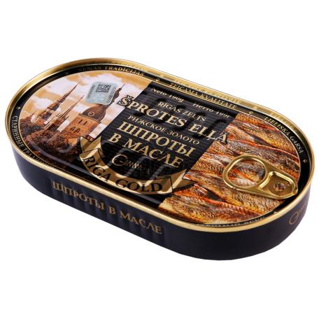 Շպրոտ «Riga Gold» ձեթի մեջ 190գ
