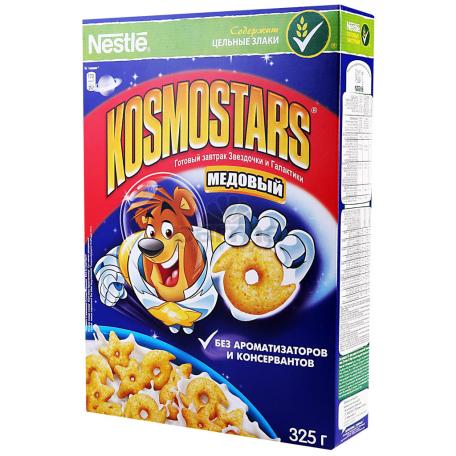 Փաթիլներ եգիպտացորենի «Nestle Kosmostars» մեղրով 325գ