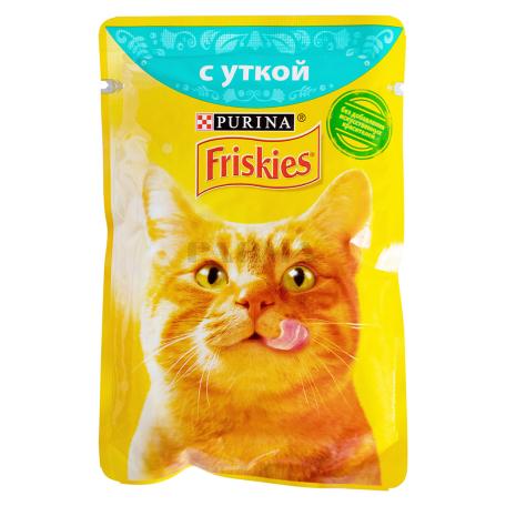Կատվի կեր «Friskies» բադի մսով 85գ