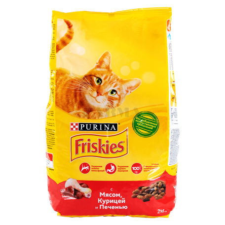 Կատվի կեր «Friskies» հավի մսով, լյարդով 2կգ