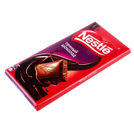 Շոկոլադե սալիկ «Nestle» մուգ շոկոլադ 90գ