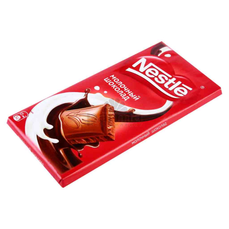 Շոկոլադե սալիկ «Nestle» կաթնային 90գ