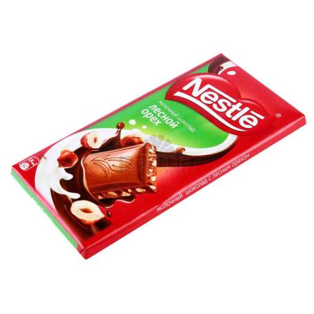 Շոկոլադե սալիկ «Nestle» անտառային ընկույզ 90գ