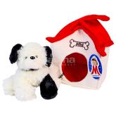 Փափուկ խաղալիք «Մանկան» շնիկ տնակում