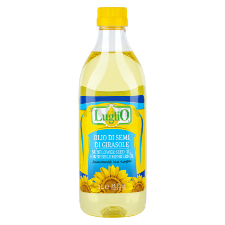 Подсолнечное масло `Luglio Girasole` 1л