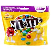 Դրաժեներ «M&M`s» գետնանուշ 360գ