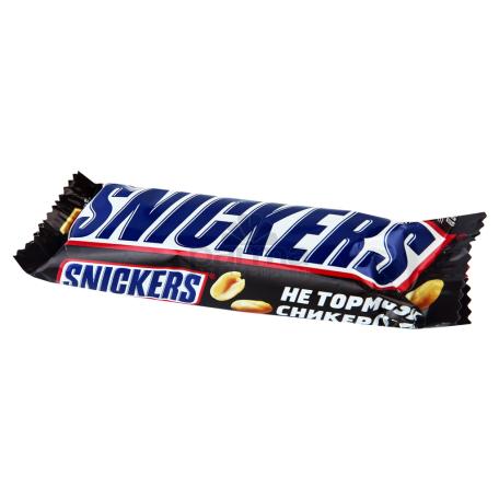 Շոկոլադե բատոն «Snickers» 55գ