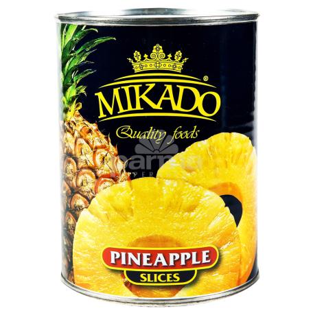 Կոմպոտ արքայախնձորի «Mikado» 580գ
