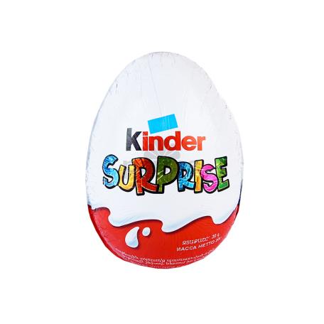 Շոկոլադե ձվիկ «Kinder Surprise» խաղալիքով 20գ