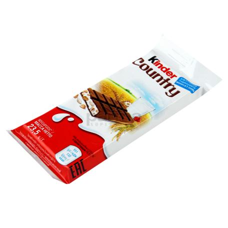 Շոկոլադ կաթնային «Kinder Country» 23.5գ
