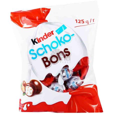 Բատոն շոկոլադե «Kinder Schoko-Bons» 125գ