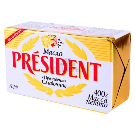 Կարագ «President» 82% 400գ