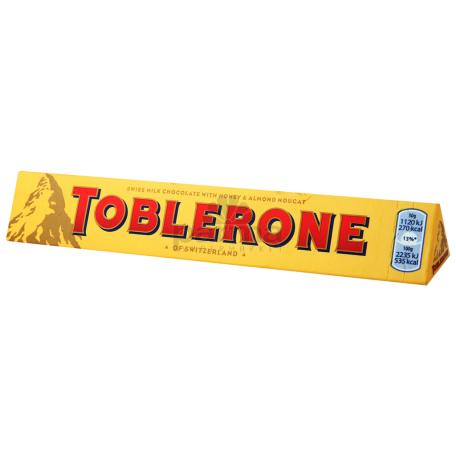 Շոկոլադե սալիկ «Toblerone» 100գ